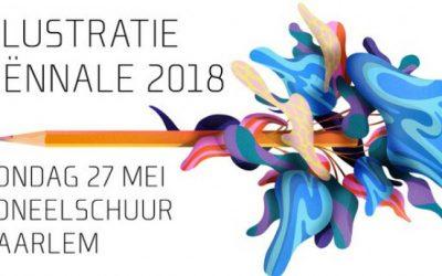 Illustratie Bienale in Haarlem